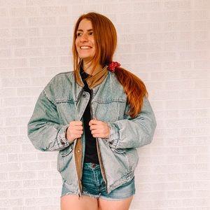 Vintage Levi light denim jacket
